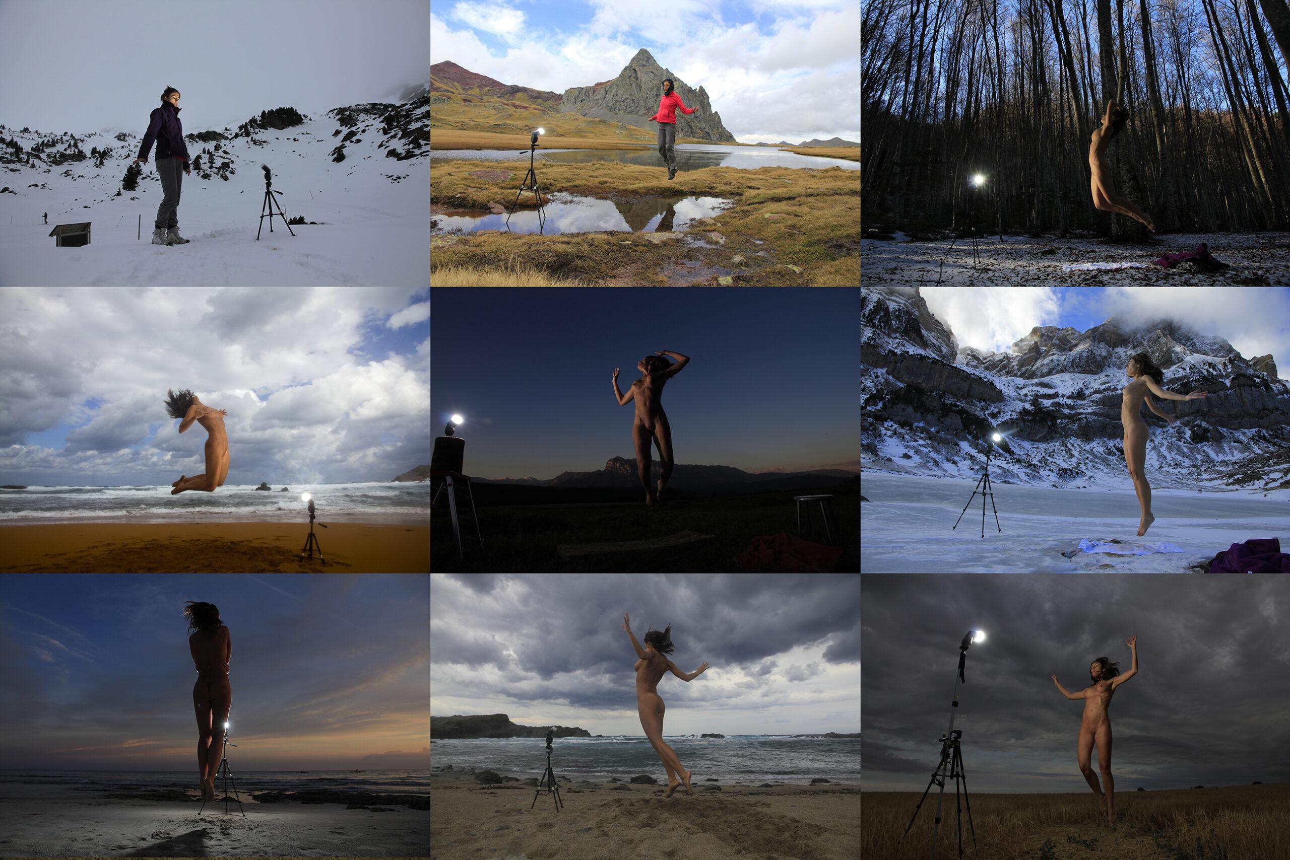 """Fotos de Making of del proyecto """"Sinapsis"""", 2013, 2014, 2015"""