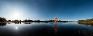 KÄÄNNA JUURI IX. Fotografía y retoque digital. Lago Mustianoja, Hämeenkyrö, Finlandia thumb