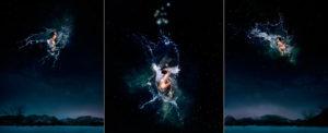 EUFONÍA de la Constelación de ACUARIO. Fotografía digital nocturna y acuática. Configuración y retoque digitales thumb