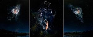 EUFONÍA de la Constelación de GÉMINIS. Fotografía digital nocturna y acuática. Configuración y retoque digitales thumb