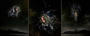 EUFONÍA de la Constelación de CANCER. Fotografía digital nocturna y acuática. Configuración y retoque digitales thumb
