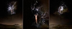 EUFONÍA de la Constelación de ESCORPIO. Fotografía digital nocturna y acuática. Configuración y retoque digitales thumb