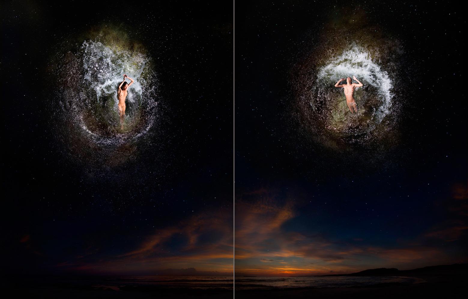Estrella (β) sagittarii - Arkab / Estrella (γ) sagittarii